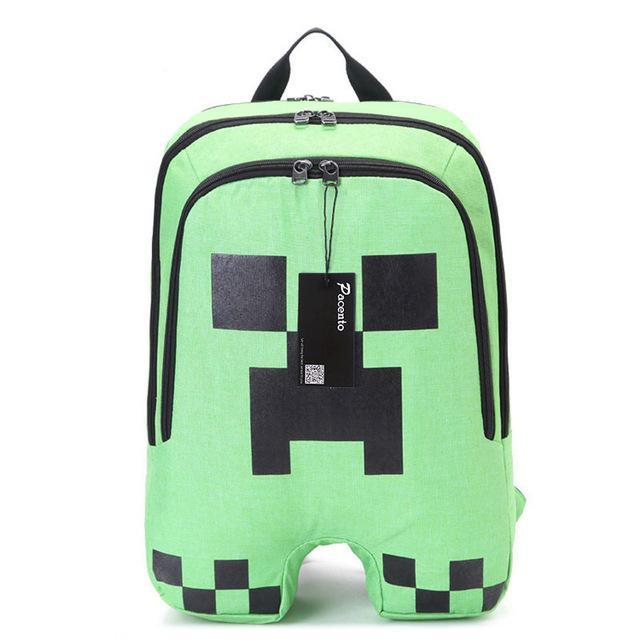 3b2f696e575b JOHNKART.COM.  26.99 USD. Teenager MineCraft Cartoon Backpack Boy Cartoon School  Bags ...