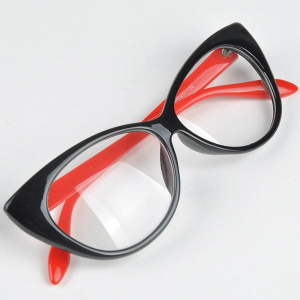 Cute Lovely Cat Eye Glasses Frame Women Fashion Party Beach Shopping Glasses Eyewear Accessories 7 Colors  de sol feminino
