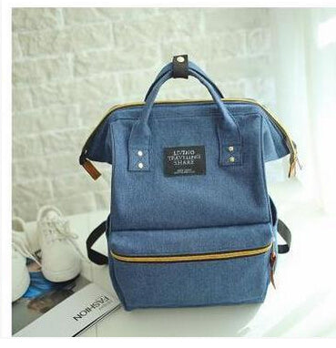 Fashion Women Backpacks Female Denim School Bag For Teenagers Girls Travel Rucksack Large Space Backpack Sac A Dos