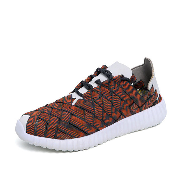 Spring And Summer Men Casual Shoes Flat Breathable Air Mesh