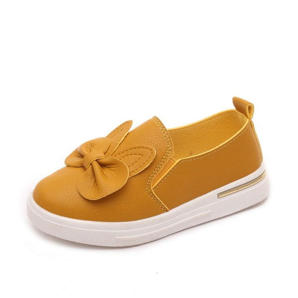 Quality Autumn Cute Rabbit Children Sneakers Girls Princess Shoes Children Skate Shoes Girls Flat Sport Shoe 4 Color