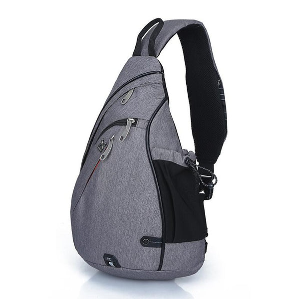 Large Capacity Chest Pack Nylon Zipper Women's Messenger Bags Men's School Bag Modern Shoulder Bag Unisex Crossbody Bag