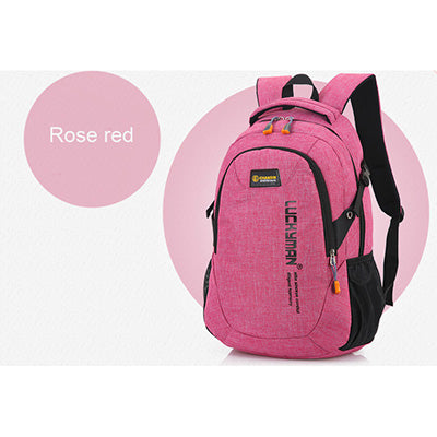 Unisex School Bag Waterproof Nylon Brand New Schoolbag Business Men Women Backpack Polyester Bag Shoulder Bags Computer Packsack