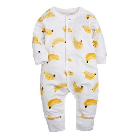 Newborn Baby Romper Spring Autumn Baby Boy Girl Clothing Cotton Long Sleeve bebe Clothes Cartoon Kids Infant BabyJumpsuit