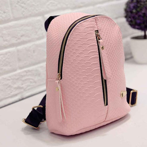School Bags Fashion  Charming Nice Women Leather  Schoolbags Travel Shoulder Bag Oct16