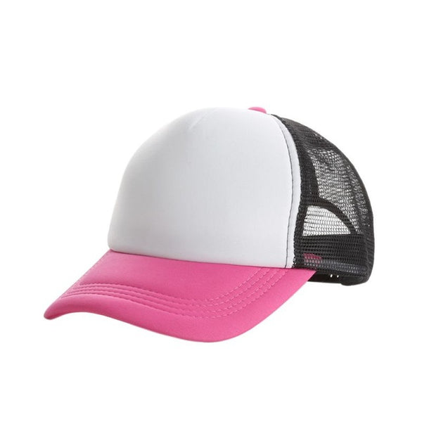 2017 Top Sell mesh Snapback Hats Women Baseball Caps Sun Hats Quick-Drying Breathable Caps