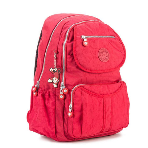 Backpacks for Teenage Girls Mochila Feminina School Backpack Women Solid Famous Nylon Casual Laptop Bagpack Female 2017