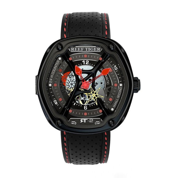 Luxury Dive Sport Watch Luminous Dial Nylon/Leather/Rubber Strap Automatic Creative Design Watch