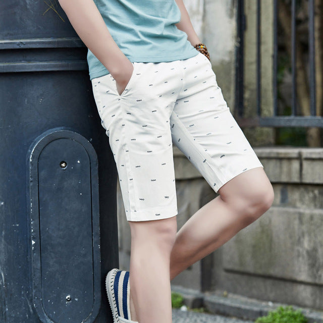 Summer Cotton Shorts Men Fashion Brand Board Shorts Breathable Male Casual Shorts Comfortable Plus Size Mens Short Bermuda Beach