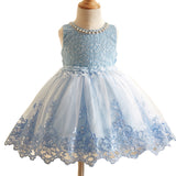 Brand Sequined Flower Girl Dress Kids Pageant Party Wedding Ball Prom Princess Formal Occassion Flower Lace Girls Dress 3-10Y
