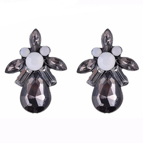 Earrings Vintage Hollow Retro Hohles Earring Women Jewelry Earring shiny water droplets earrings