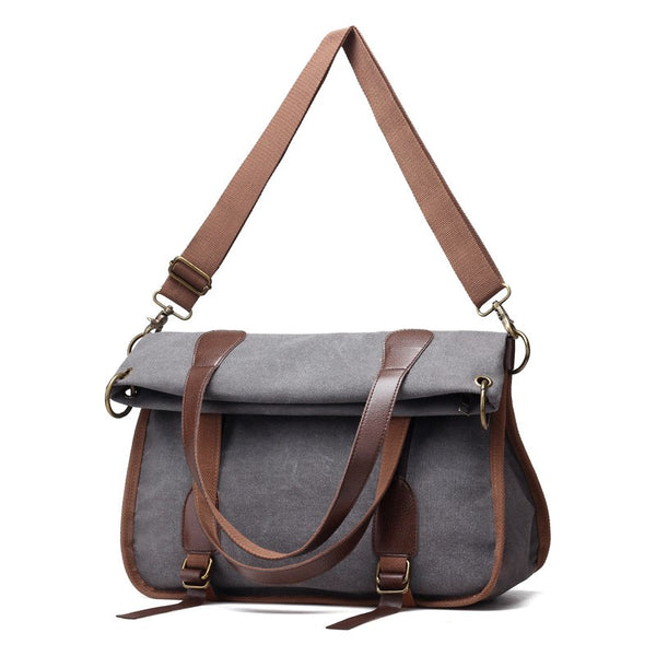 New Fashion Women Canvas Bag Female Handbag Ladies Girls Casual Shoulder Bag Multifunctional Large Capacity Tote Bags