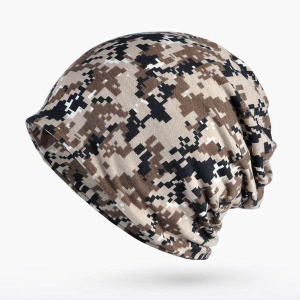 Men Autumn Winter Hat Tactical Military Balaclava Army Camouflage Beanies Thin Cotton Skullies beanie Men Unisex Scarf Camo