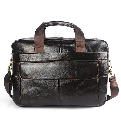 Laptop Bag Men Briefcase Business Travel Briefcase Handbag Messenger Shoulder Laptop Bags Genuine Leather Bag Men Briefcases