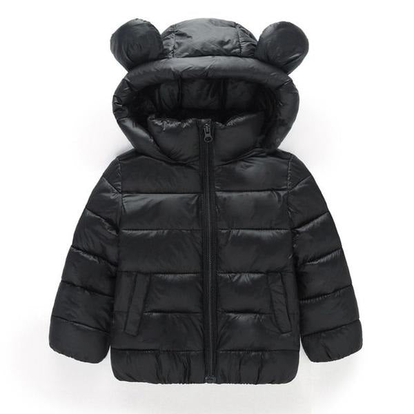 Girl Jackets Girls Outerwear Coats Long Sleeve Solid Thick Kids Baby Boy Down Parkas  Cotton Warm Children Clothing