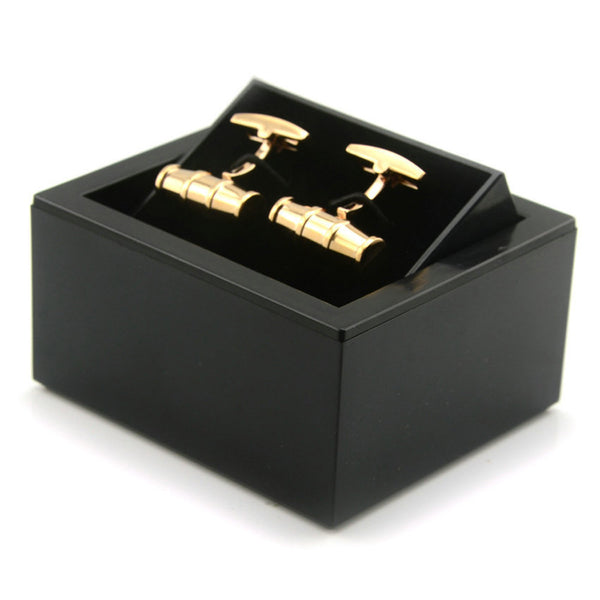Jewelry Cufflinks Storage Organizer Case Cuff Link Display Holder Box