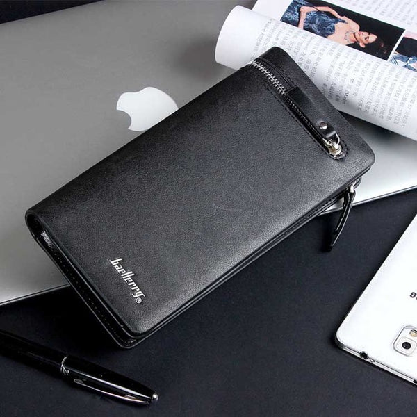 Men Wallet men purse Long section Business Male Clutch Handy Designer Luxury Wallets phone bag Capacity purse coin wallet