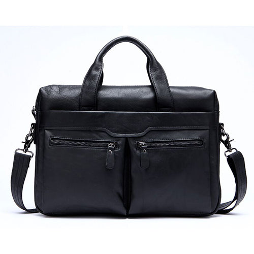 Men Bag Genuine Leather Bag Men Crossbody Bags Messenger Men's Travel Shoulder Bags Tote Laptop Briefcases Handbags 9005