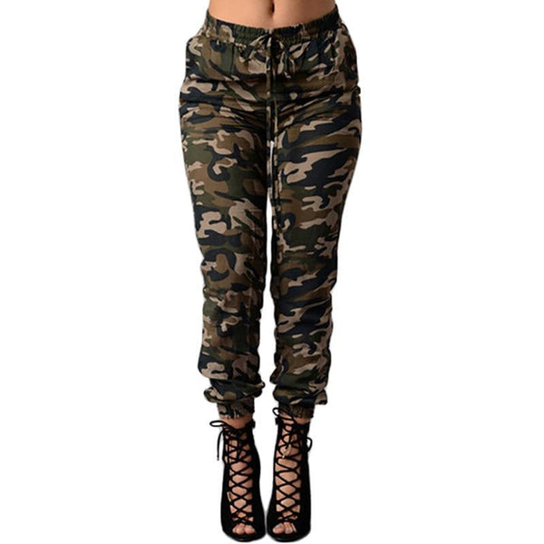 New style autumn fashion women camouflage jeans Full Length Pencil Pants Zipper skinny causal style female loose jeans WL14