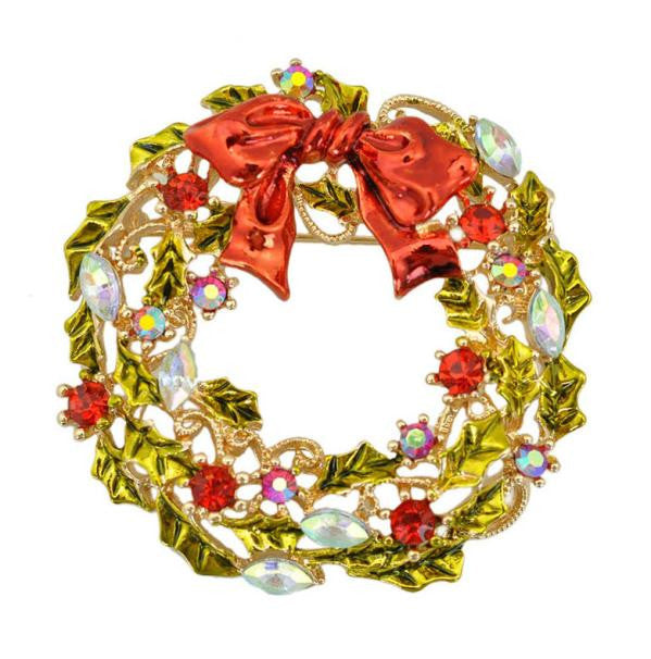 Christmas Wreath Brooch Gifts