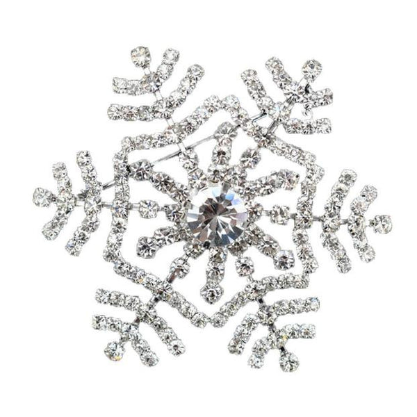 Christmas Snowflake Brooch Gifts