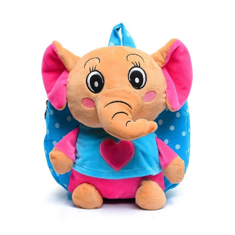 Lovely Cartoon Elephant Plush Backpacks Toys Hobbies School Bag Soft Dolls Stuffed Plush Children Backpacks Kids Baby Bags