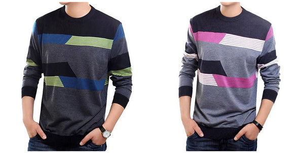 O-Neck Sweater Men Casual Dress Brand Clothing Mens Sweaters Cashmere Wool Pullover Men Long Sleeve Shirt Pull Homme 19