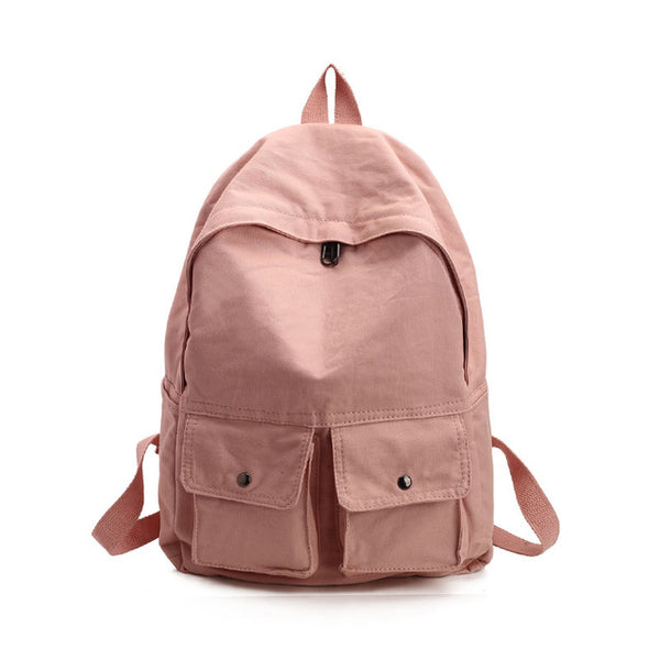 Women Backpack Teenagers Girls Bag Ladies Cotton Fabric Backpack Female Back Pack Women Travel Backpack Mochila