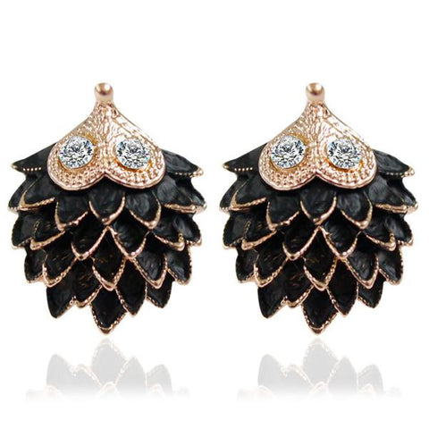 Women Pure Retro Earrings Hedgehog