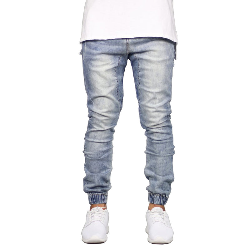 Stretch Men Jeans Denim Jogger Design Hip Hop Joggers For Men