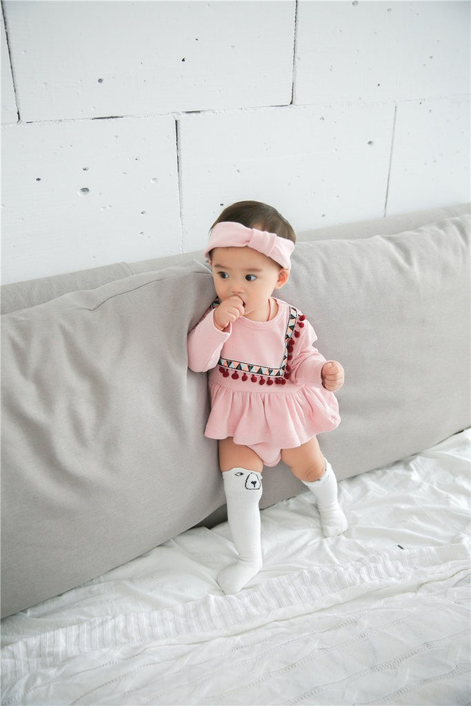 9e3e8d661e2dd Kids Baby Clothes Cotton Jumpsuit Romper Dress Up Newborn boy and girl  rompers O-neck cloth