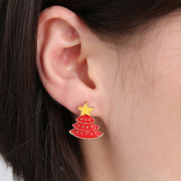 Christmas Gifts Fashion The Stud Earrings