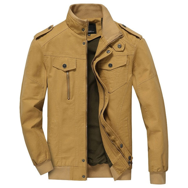 Men Army Soldier Jacket Air Force Military jacket Male Plus Size Casual jacket Coats Men's Autumn Coat TD-QZQQ-004