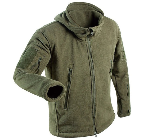 Winter Military Polar Fleece Jacket Warm Tactical Jacket Men Thermal men Polartec Softshell Jacket Army