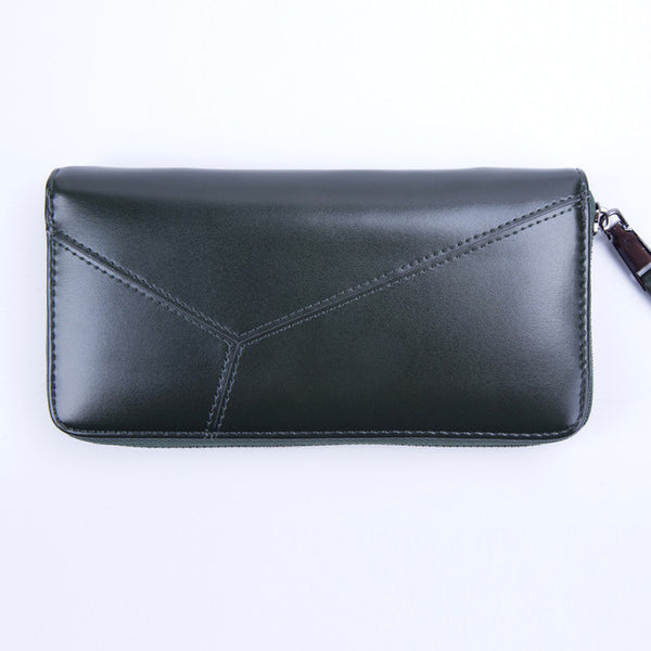 Woman Wallet PU Wallet Female Long Zipper Wallets Ladies Fashion Coin Purse Solid Women Purses Handbags