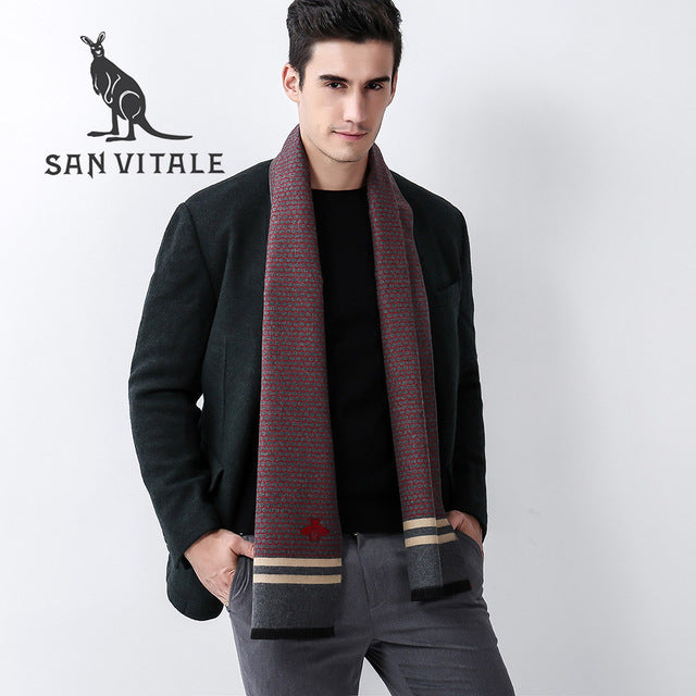 788dcfa634e61 Scarves Men Scarf Winter Warm Small Square Silk Poncho Fall 2017 Fashi |  JOHNKART.COM. }