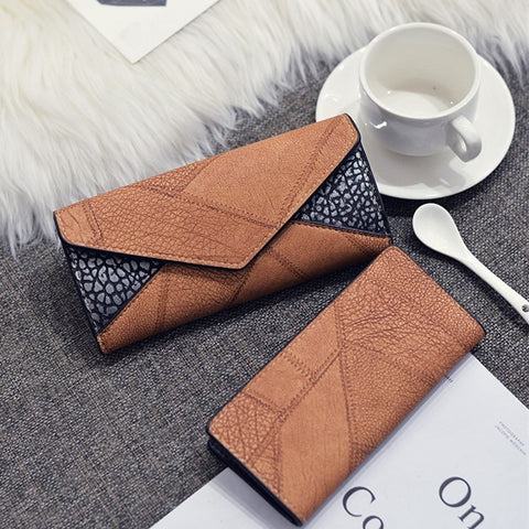 Fashion Short Matte Ladies Wallet Vintage Tassel Zipper Hasp Womens Wallets Vintage Clutch Bag Purses Money Bag Free Shipping