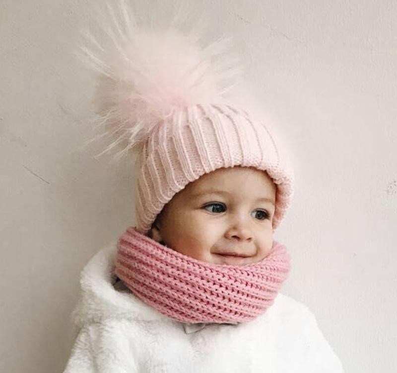 60695e52877 Baby Hat Clearance Costume Beanie Hats with Fur Pelz Top Fitted Kids  Accessories Winter Baby Hats ...