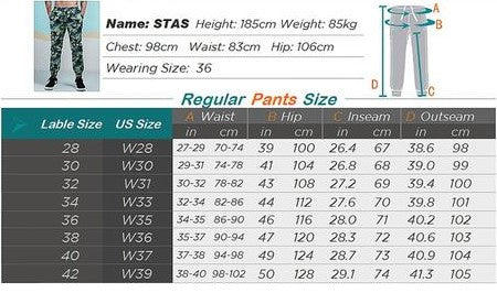 Spring Men Casual Fashion Camo Jogger Pant Man Cotton Fitted Trace Twill Pant Male Straight Tapered Trousers AM5011