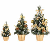 Christmas Tree Decoration Holiday Home Mini Artificial Trees Christmas Decorations For Home Xmas Gift 20 30 40CM