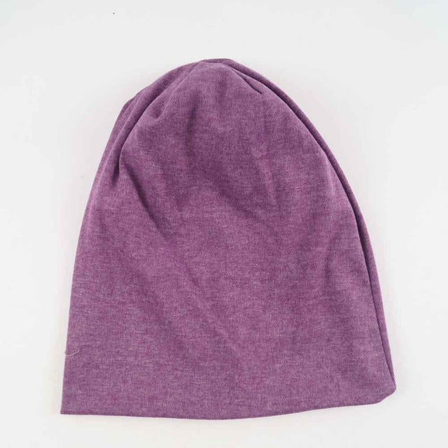 20 Colors Solid Knitted Cotton Hats Beanies For Women Unisex Spring Autumn Warm Ear Casual Outdoor Hip-Pop Caps Skullies