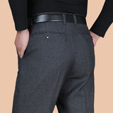 Fashion Men Dress Pants Spring Autumn Classic Business Plus Size 20-40 Casual Straight Trousers Suit Pants Men Pantalon Hombre