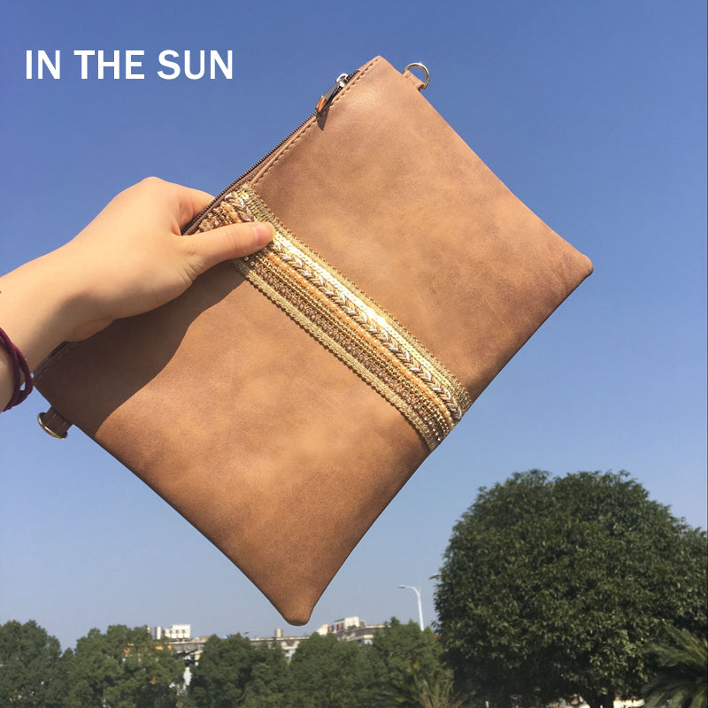 Women Day Clutches Leather Handbag Diamond Small Crossbody Bag For Women Messenger Bags Envelope Evening Party Bags