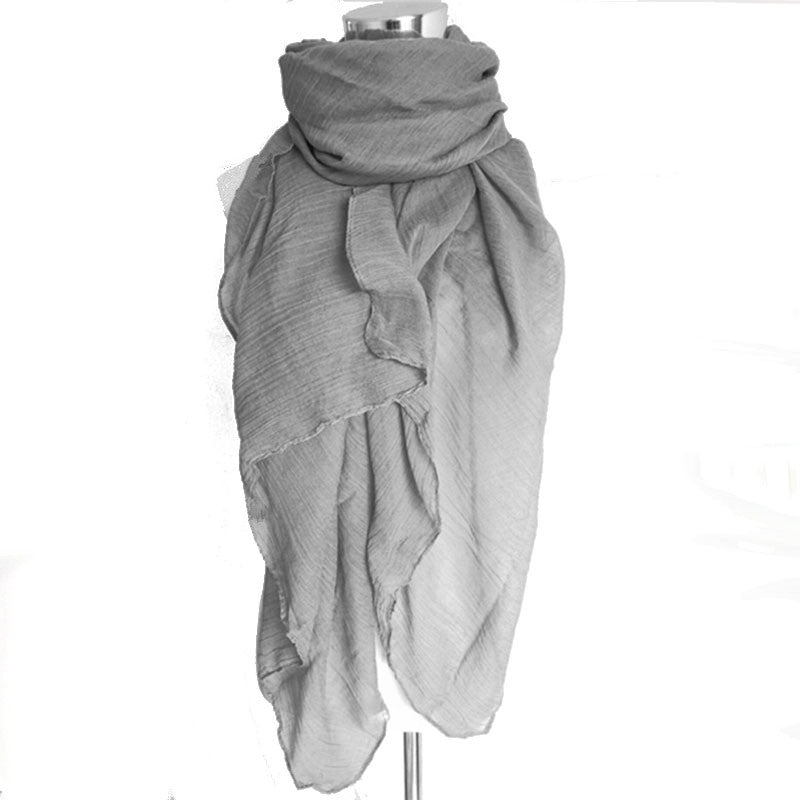 New Fashion 20 Colors Women Scarf Vintage Ladies Solid Color Black Red White Scarves Warp summer women's scarf long shawl