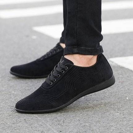 Autumn/Winter Men Shoes Fashion Low Casual Shoes Men Canvas Shoes High Quality Black Dress Shoes Men Sneakers