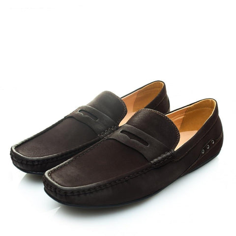 Fashion Soft Artificial Leather Breathable Men's Flats Shoes Slip-on Moccasins Men Loafers Black Big Size CE86811BL