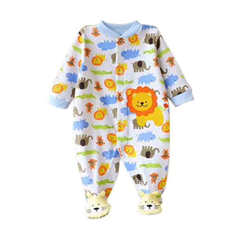 Near Cutest Winter Baby Rompers Long Sleeves 100% Cotton Infant Coveralls Newborn Baby Boy Girl Clothes Baby Clothing