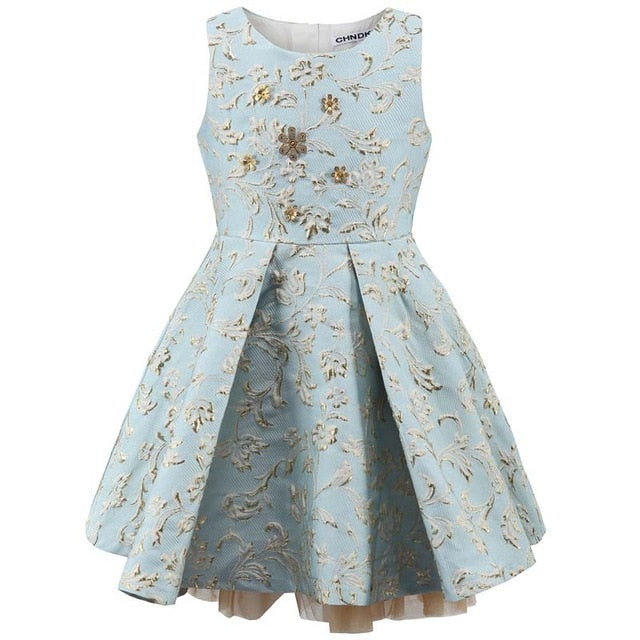 Baby Girl Princess Dress 3-12 Years Kids Autumn Dresses for Toddler Girls Children Party Clothing Flower Girl Dress