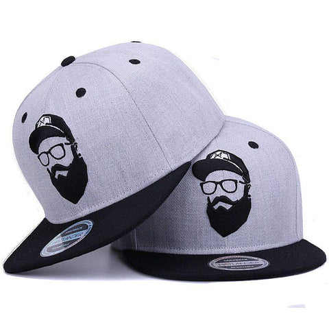 Original grey cool hip hop cap men women hats vintage embroidery character baseball caps gorras planas bone snapback