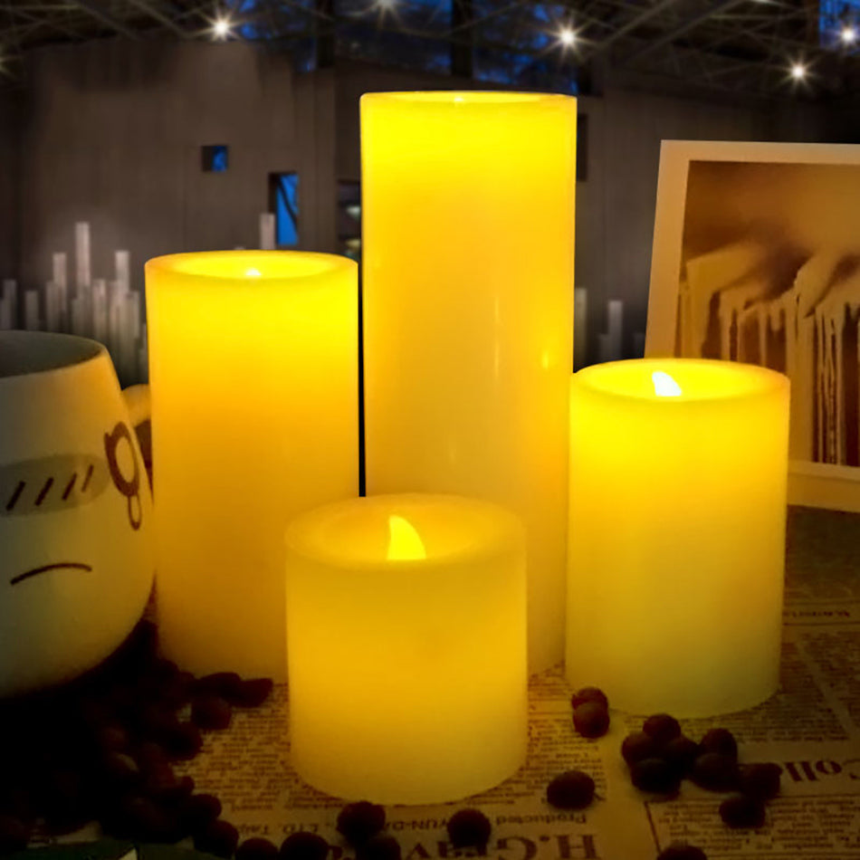flameless electrical paraffin wax led candle for wedding party  decoration,Halloween/Christmas candle light, lovely night light